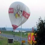 Ballon landet in Giebelstadt