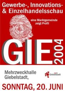 Plakat GIE 2004